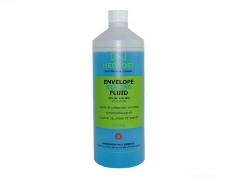 Neoseal / Neopost / Quadient | Kuvertierflüssigkeit / Schließflüssigkeit | 1 Liter
